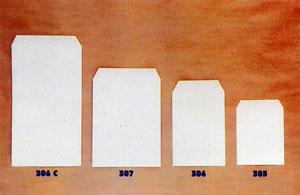 e0def7f81 Sobres-Bolsa de papel ilustración / laminado oro / kraft. Elaborados en distintos  tamaños